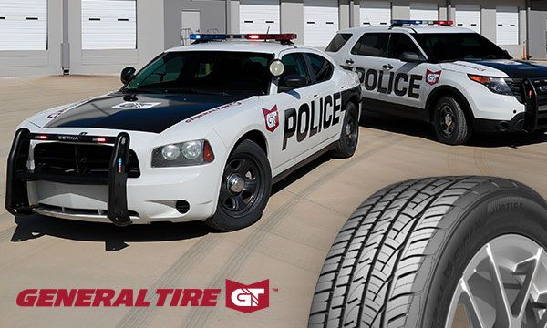 General Tire's G-Max Justice tire is designed for law enforcement fleets and high-speed pursuit applications.  - Photo: General Tire