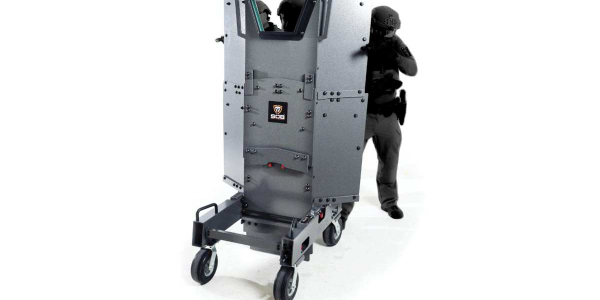The SOB II from Point Blank Enterprises is designed for efficient transport and quick deployment.