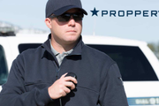 The Propper 1/4 Zip Job Shirt is made from a cotton/polyester blend.