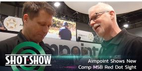 (Video) Aimpoint Shows New Comp M5B Red Dot Sight at SHOT Show 2020