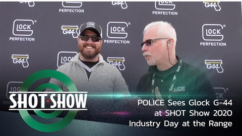 Glock's new G-44 Chambered in .22 Long Rifle at the SHOT Show 2020 Industry Day at the Range