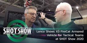 (Video) Lenco Shows X3 FireCat for Tac Teams at SHOT Show 2020