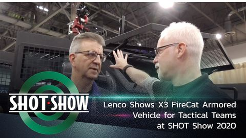 Lenco X3 FireCat at SHOT Show 2020