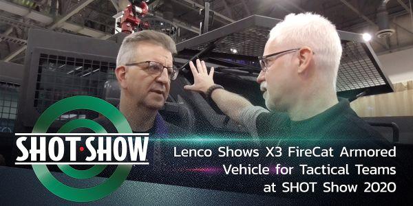 Lenco X3 FireCat at SHOT Show 2020