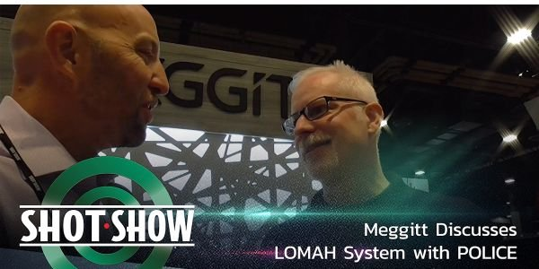 Meggitt Training Systems' LOMAH target training system at SHOT Show 2020