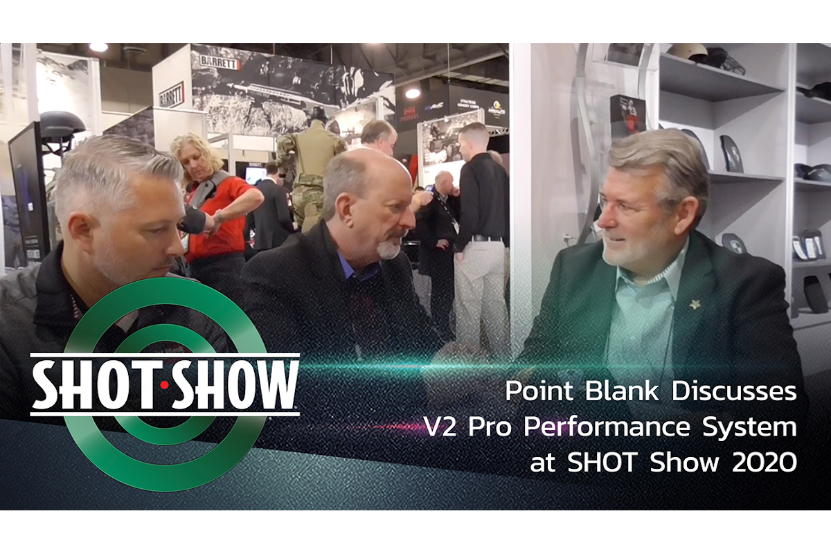 (Video) Point Blank Discusses V2 Pro Performance System at SHOT Show 2020