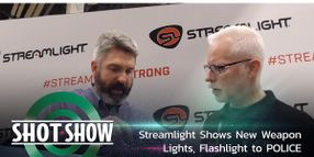 (Video) Streamlight Shows New Weapon Lights, Flashlight at SHOT Show 2020