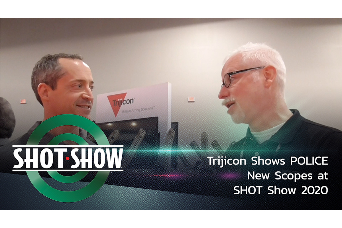 (Video) Trijicon Shows POLICE New Scopes at SHOT Show 2020