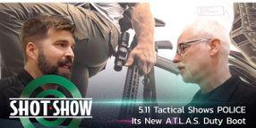(Video) 5.11 Tactical Shows A.T.L.A.S. Boot at SHOT Show 2020