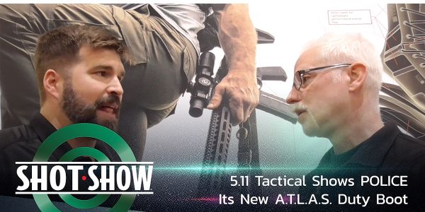 5.11 Tactical All Terrain Load Assistance System (A.T.L.A.S.) Duty Boot at SHOT Show 2020