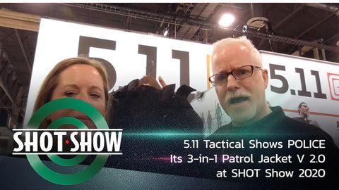 5.11 Tactical's new 3-in-1 Patrol Jacket V 2.0