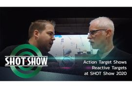 (Video) Action Target Shows Reactive Targets at SHOT Show 2020