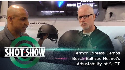 POLICE Contributing Web Editor Doug Wyllie gets to see the Busch PROtective AMP-1 TP Helmet by...