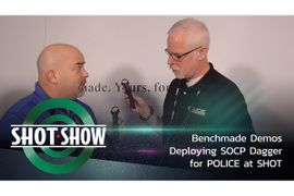 (Video) Benchmade Demos Deploying SOCP Dagger at SHOT