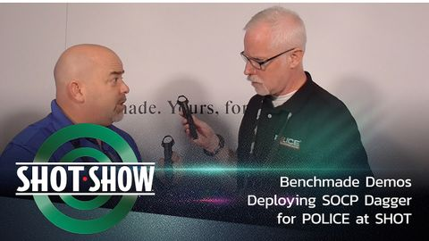 POLICE Contributing Web Editor Doug Wyllie gets details on the differences between Benchmade's...