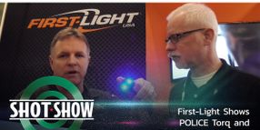 (Video) First-Light USA Shows Torq and T-Max Lights at SHOT