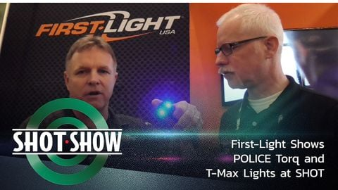 First-Light USA demonstrates for POLICE Contributing Web Editor Doug Wyllie the many ways...