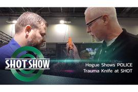 (Video) Hogue Shows Trauma Knife at SHOT Show