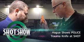 (Video) Hogue Shows Trauma Knife at SHOT Show
