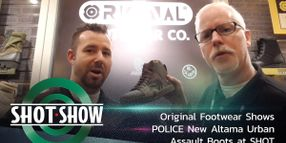 (Video) Altama Shows New Urban Assault Boots at SHOT Show