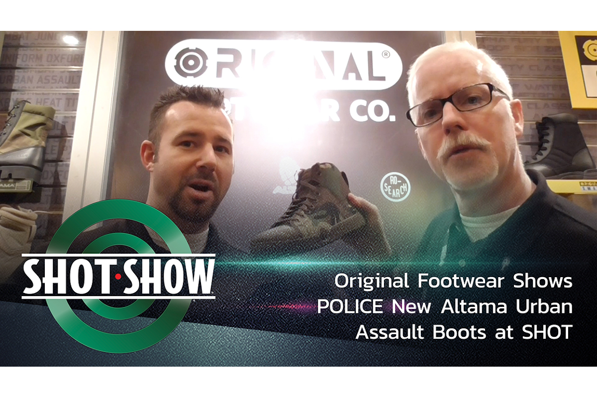 (Video) Altama Shows New Urban Assault Boots at SHOT Show