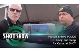 (Video) Pelican Shows Long and Deep Air Cases at SHOT