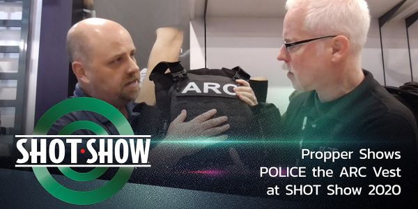 POLICE gets the details on Propper's ARC Vest external carrier at SHOT Show 2020.