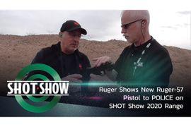 (Video) See New Ruger-57 Pistol on SHOT Show 2020 Range