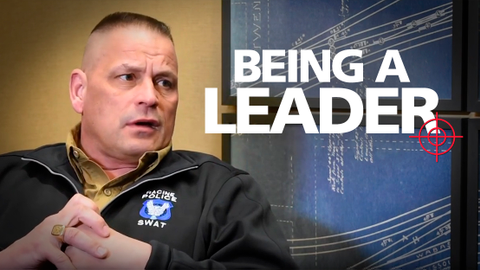 Sgt. Steve Fish discusses how leadership can be found, and how leaders can boost morale.