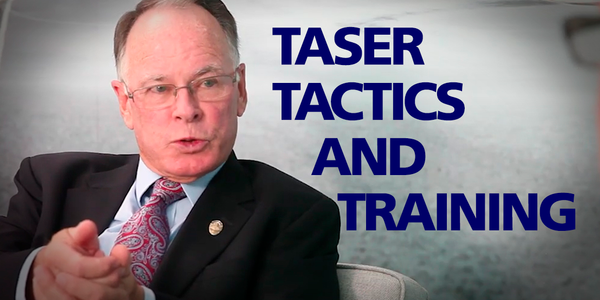 Greg Meyer shares his perspective on TASER tactics and training for law enforcement officers.