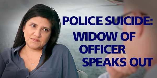 Melissa Swailes is the widow of Officer David Swailes of the LAPD, who died by suicide in...