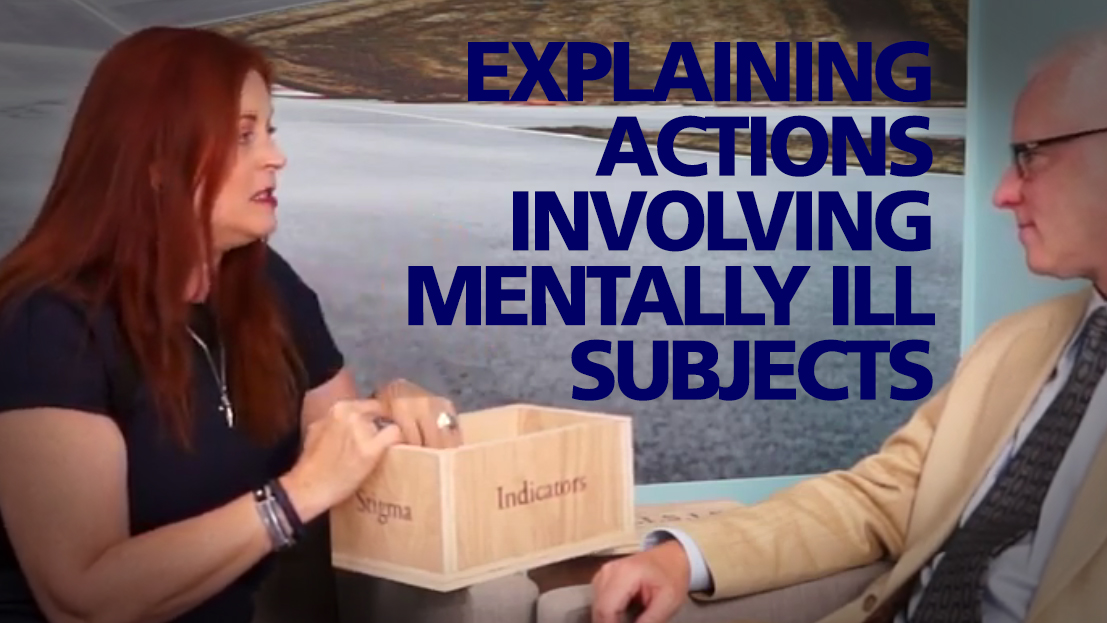 Video: Articulating Interactions with Mentally Ill Subjects Using Mnemonics