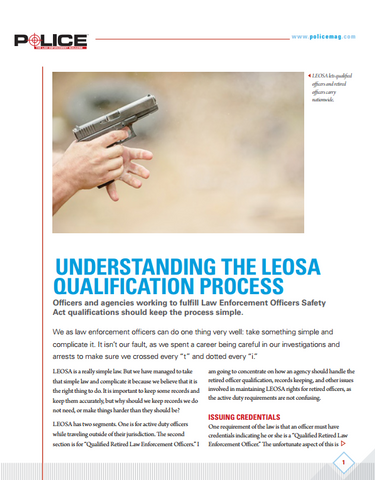 Understanding the LEOSA Qualification Process