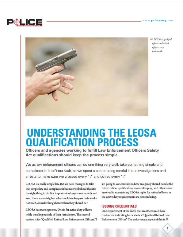 Understanding the LEOSA Qualification Process