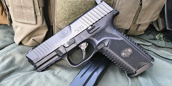 The FN 509 duty pistol is a modified version of the pistol the company submitted for the Army's...