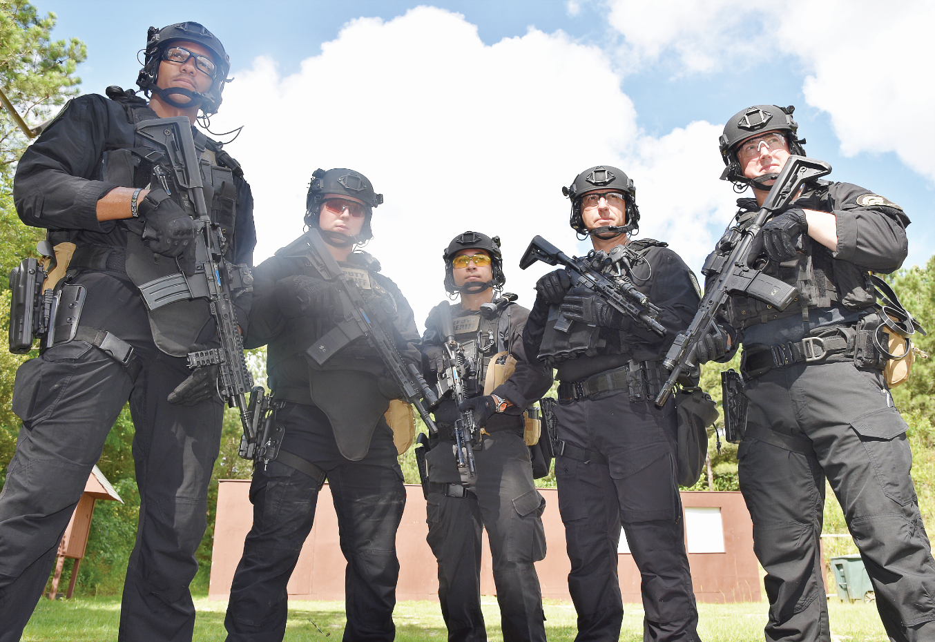 The Evolution of SWAT Operator Selection