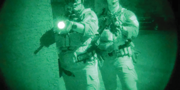 Night vision is used in a variety of domestic law enforcement operations. (Photo: Abboud Bedro)