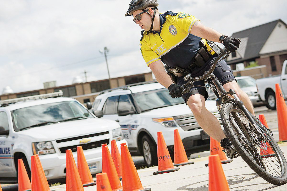 A Day in the Life of a Bicycle Cop