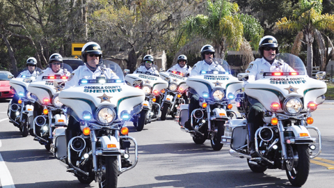 Motor units are often locked into traditional roles such as providing motorcade escorts. Photo:...
