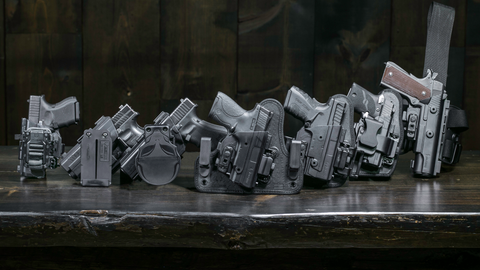 Alien Gear's ShapeShift holster starter kit comes with everything you need to make four...
