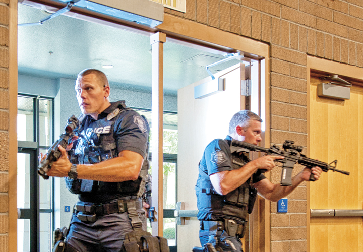Combined Response to Active Shooters