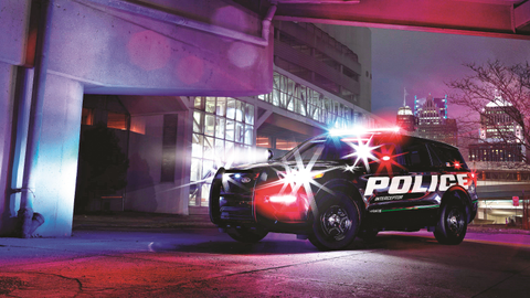 Ford says the 2020 Police Interceptor Utility hybrid is more powerful and more economical than...