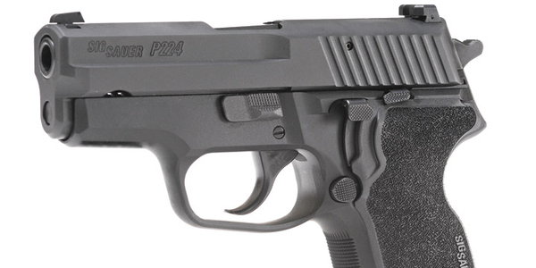 SIG Sauer P224 DA/SA Subcompact Pistol PHOTO: Paul Budde and Becky Leavitt