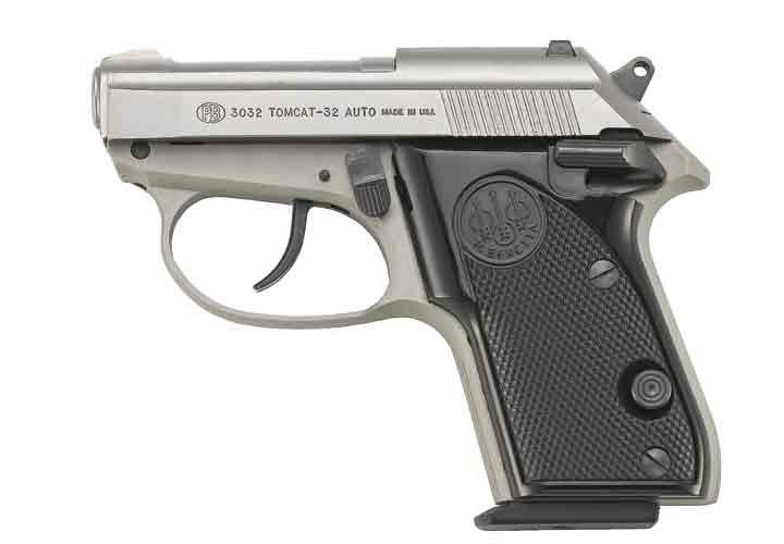 Beretta 3032 Tomcat Subcompact Pistol - Weapons - POLICE Magazine
