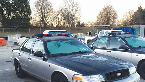 Before agencies sell their retired patrol vehicles they usually remove equipment and try to...