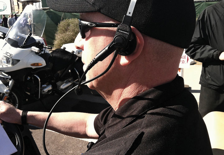 Pryme® Tactical Bone Conduction SWAT Headset Boom Mic Motorola XTS Series Radios