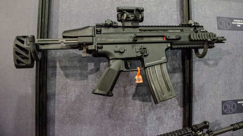 FN's SCAR-SC is a select-fire 5.56mm NATO subgun based on the full-sized SCAR rifle. (Photo:...