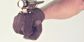 Glove-Mounted Light: Handy Lighting