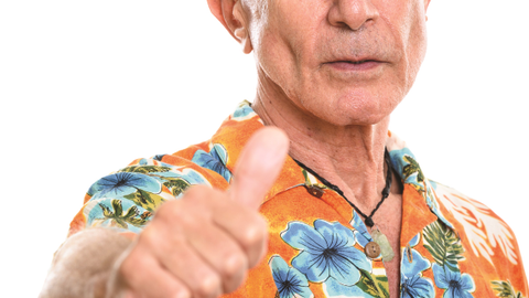 Veteran LEOs tend to wear Hawaiian shirts or sometimes bowling shirts. (Photo: Getty Images)