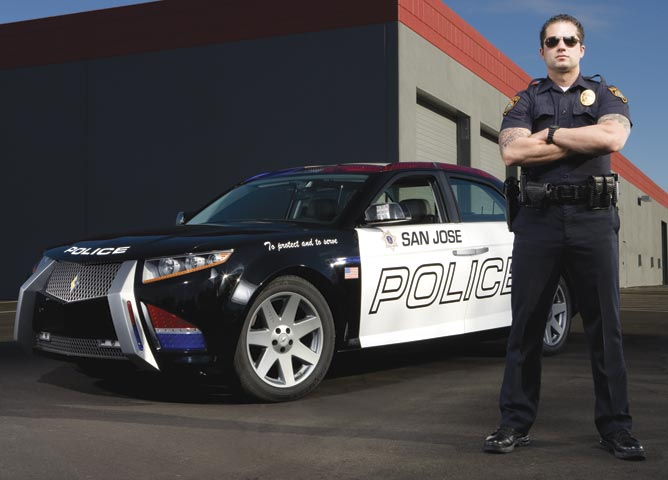 Coming Attraction: Carbon Motors' E7 Patrol Car